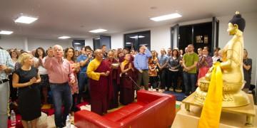Inaugurace meditační místnosti